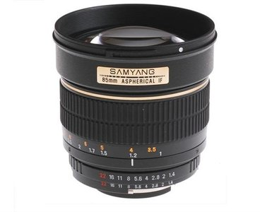 SAMYANG 85mm f/1.4 AS UMC Canon