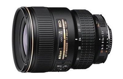 Nikon AF-S 17-35mm/F2.8 IF ED