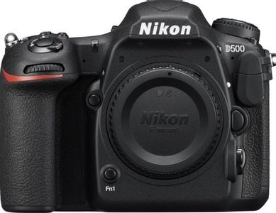 Nikon D500 body zwart
