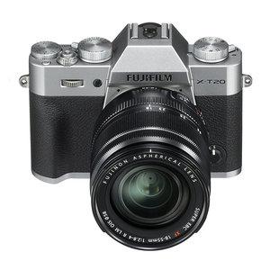 Fuji X-T20 zilver  + 15-45
